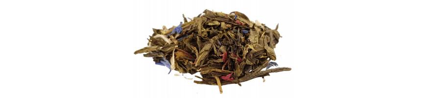 Vente de thés verts parfumés en ligne