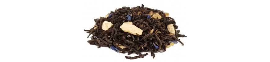 Vente de thés noirs parfumés en ligne