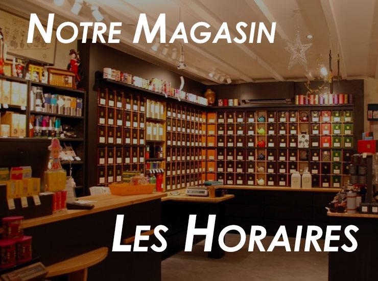 La boutique Thé Caramel et Chocolat